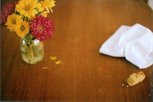 cornbread crumbs