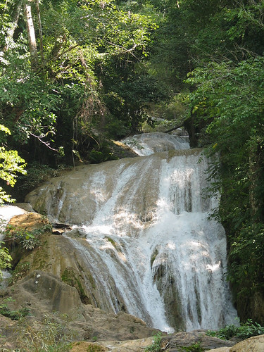 Wang Kaeo waterfall, Lampang