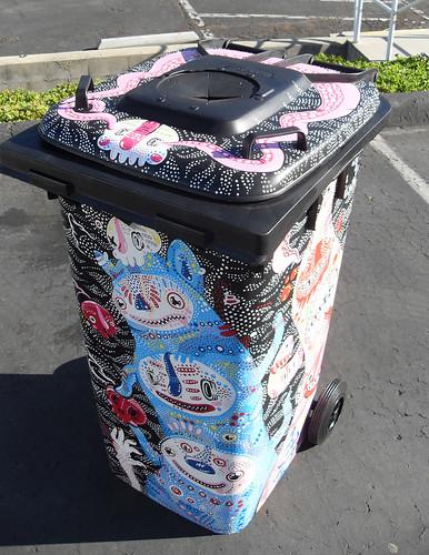 Trashed Coachella Bin 5
