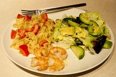 Fresh Tomato Pasta Dinner