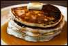 Stacked (Cygnus~X1 - Visions by Sorenson) Tags: food usa brown yellow pancakes breakfast canon recipe spring unitedstates indiana tasty explore delicious eat homemade butter april syrup stroop ef2470mmf28lusm buttermilk 2010 monon buttermilkpancakes eos5dmkii craigsorenson