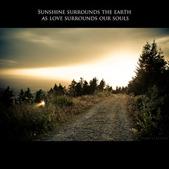 [ Sunshine surrounds the earth as love surrounds our souls ] (bonnix (Scotty)) Tags: light sun france afternoon mummelsee nikond200 nikkor247028