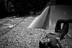 Fookin' Hipster (Dan_Evans) Tags: sunlight forest canon river md long exposure dam air 110 maryland glen reservoir nd daytime 1855mm bel xsi harford f3556 atkisson 450d