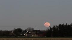 Moonrise (Jannis_V) Tags: mondaufgang moonrise normandie normandy