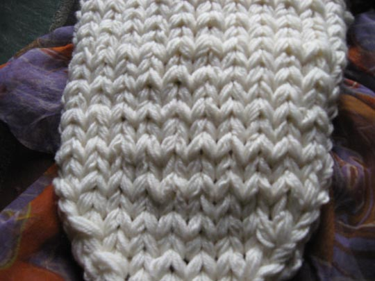 pam headband closeup