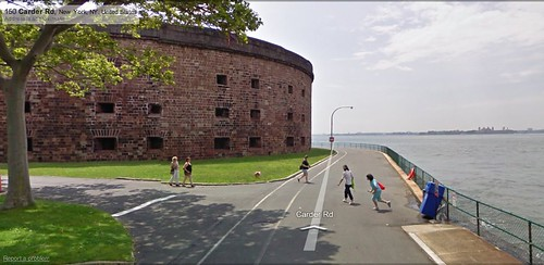 Castle Williams, as seen from Google Street View. (Courtesy Google)