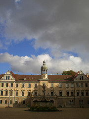 Silence before the storm (Silanov) Tags: city house castle abbey clouds germany bayern bavaria town hall europe view eu wolken palace unesco stadt mansion aussicht baroque manor statelyhome schloss regensburg altstadt oldtown barock kloster ausblick oberpfalz manorhouse thurnundtaxis abigfave anawesomeshot upperpalatinate grosstadt stemmeram