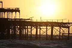 West Pier Brighton (trisha_s01) Tags: sunset pier seaside brighton westpier seafront southcoast