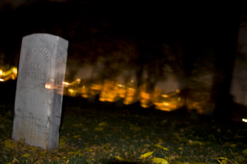 Fort Douglas Cemetary Ghost Hunting by Awen Photography