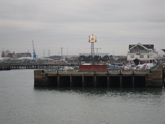 Town Quay, Southampton (crwilliams) Tags: hampshire southampton date:month=october date:day=15 date:year=2009 date:hour=17 date:wday=thursday