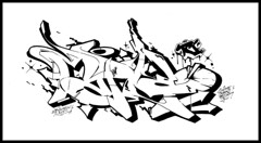 Sue x Maple (Scotty Cash) Tags: graffiti maple nine lives sketches 2009 tci nwk sueme