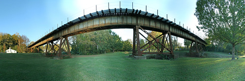 Railroad Bridge in Laurens City Park