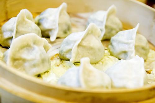 spinach dumplings!