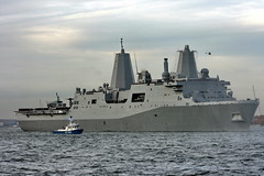 USS NEW YORK - NYPD HARBOR (kevinh_photos) Tags: ny newyork harbor ship aviation worldtradecenter 911 navy nypd hudsonriver uss ussnewyork kevinhphotos