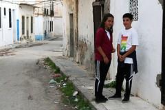 Cute kids in Sousse (inkro) Tags: tunisia backstreet sousse