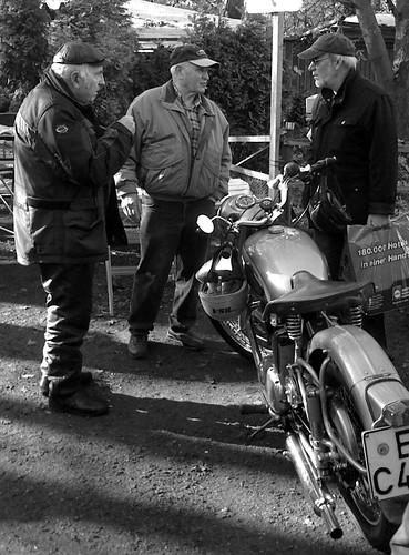 Drei Mann, ein Thema - BSA