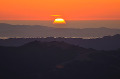 Sunset from Mount Diablo (Images by John 'K') Tags: california sunset danville mountdiablo johnk mountdiablostatepark d5000 alemdagqualityonlyclub johnkrzesinski randomok