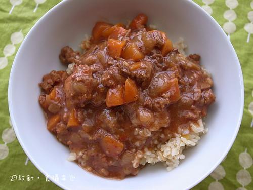 味王紅麴肉醬飯