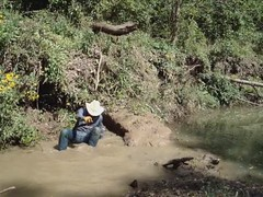 Wranglerswimmers Mud Pond wallow'n search continues - Round 2 (wranglerswimmer) Tags: swimming cowboyhat cowboyboots swimmingfullyclothed wetjeans wetladz wetlad creekhike wetcowboyboots wetwranglerjeans meninwetjeans guysintowetjeans swimmingincowboyboots