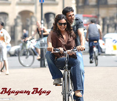 [Poster for Bhagam Bhag]