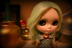 My newest Blythe doll.