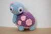 Turtle (makelifeadorable) Tags: pink cute purple turtle crochet craft amigurumi