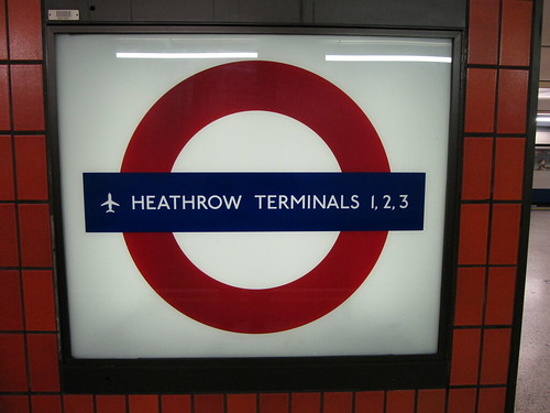 london underground zones 1 and 2. Heathrow Terminals 1, 2,