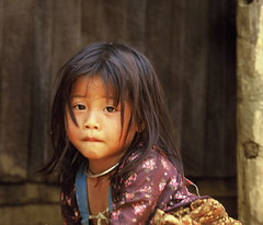 Little girl, Northern Thailand