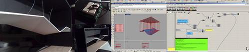 Responsive ceiling study 1_arduino to Grasshopper