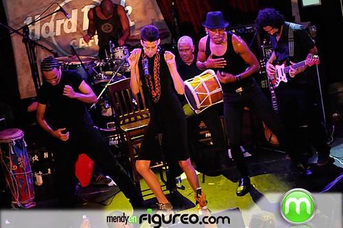Rita bailando PEPE, PEPE en hard rock cafe 5