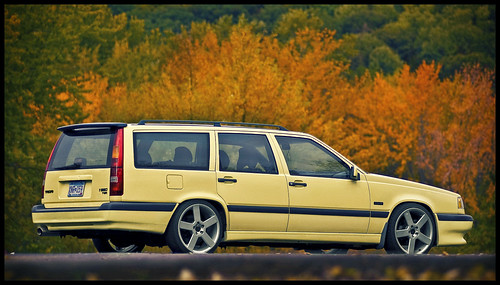 Mmmmm Ginger Ale · Volvo 850 T5-R wagon