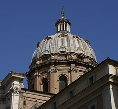 Rom, Piazza Benedetto Cairoli, San Carlo ai Catinari (HEN-Magonza) Tags: italien italy rome roma church italia kirche cupola dome rom kuppel piazzacairoli sancarloaicatinari
