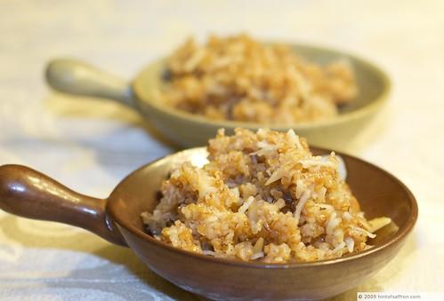 Lapsi (Broken Wheat Dessert)