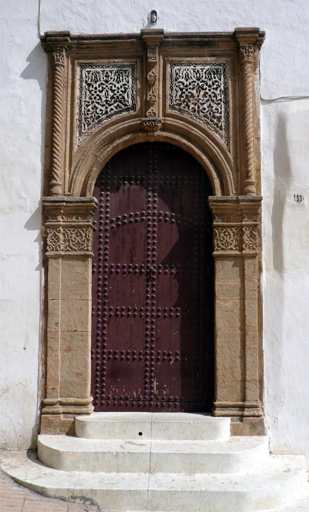 Puerta morisca en Salé
