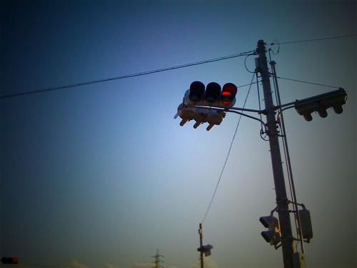 信号(赤)