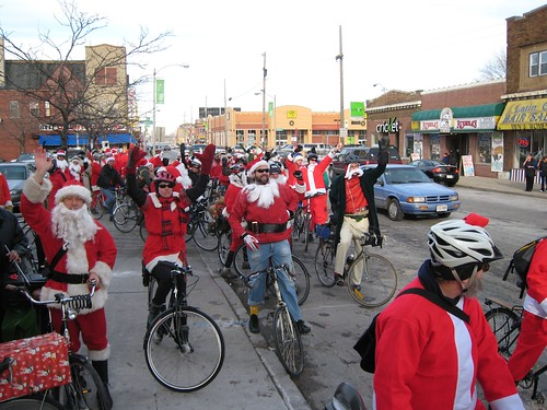 Santa Cycle Rampage - Milwaukee