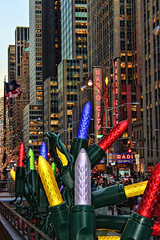 Radio City NYC at Christmas Time (NjCarGuy) Tags: christmas new york xmas city nyc newyorkcity music tree radio canon lights hall center rockefeller topaz rockettes adjust