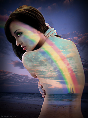 LARRY CARLSON, SHES A RAINBOW, c-print, 30x34in., 2010.