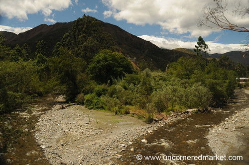 Two Streams in Vilcabamba, Ecuador