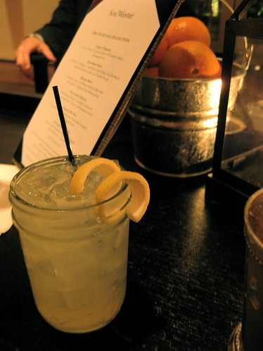"""When Life Gives You Lemons"" cocktail"