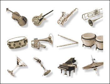 free Jazz Time slot game symbols
