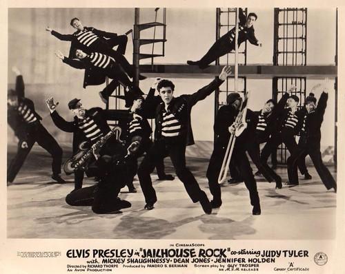Elvis Presley Jailhouse Rock 1957 Lobby Card