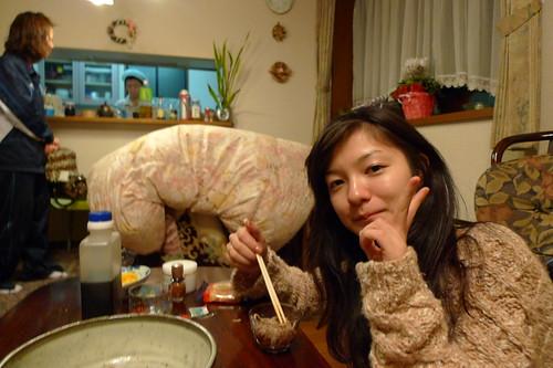 Maiko and soba
