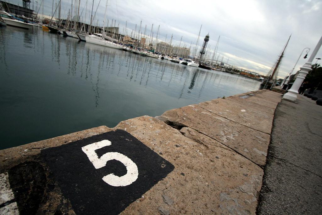 cinco de barco
