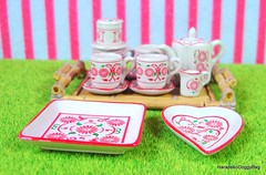 Re-ment / Rement : Japanese Dollhouse / Doll House Miniature Toys : Asian Shop #1 - Tea Set (HarapekoDoggyBag) Tags: rement rementtoys dollhouse puchi mini miniature toys japanesetoys dollhousetoys dollhouseminiatures miniaturetoys miniaturedishware japan japanese kawaii cute asianzakka asian asia teaset teapot teacup tray cups asianshop