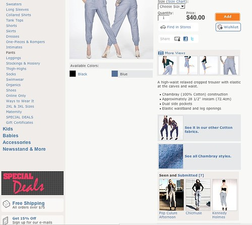 me on american apparel!
