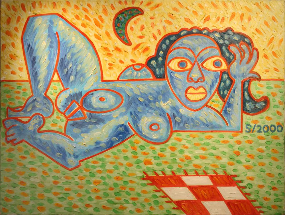 Michal Singer, The Poets' Napkin, 2000