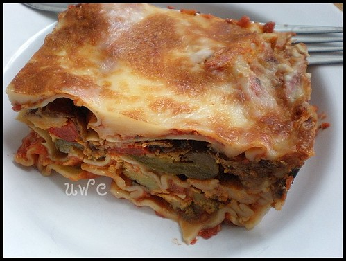 Leftover Lasagna