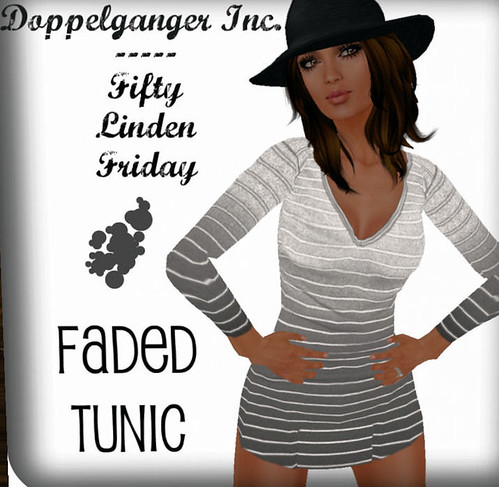 50L Friday Doppelganger faded tunic