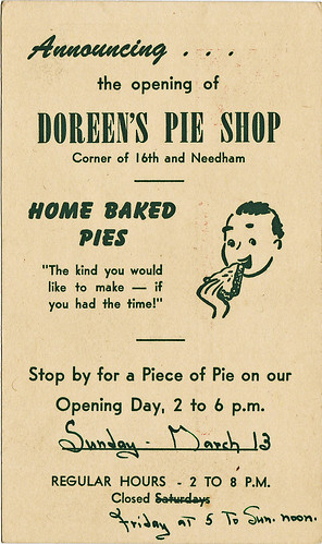 doreens pie shop